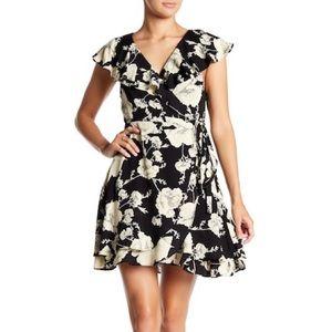 NWT French Quarter Ruffle Mini Dress